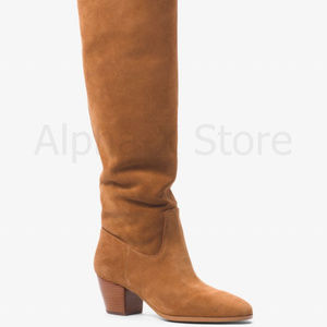 NWT Michael Kors Avery Suede Boot